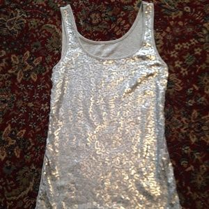 Sequined Old Navy Tank